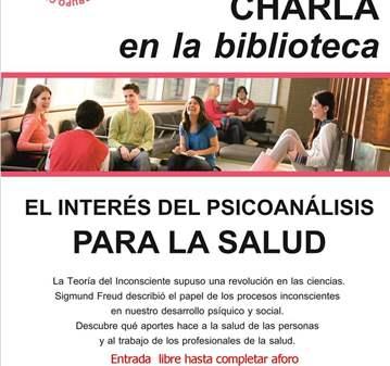 CHARLA: LA IMPORTANCIA DEL PSICOANÁLISIS PARA L...