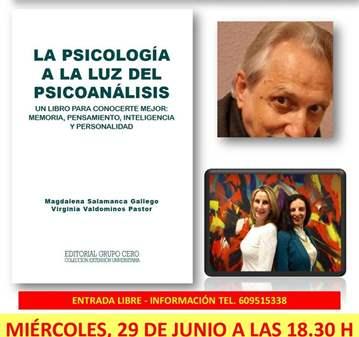 EVENTO: PUBLICAN: LA PSICOLOGÍA A LA LUZ DEL PS...