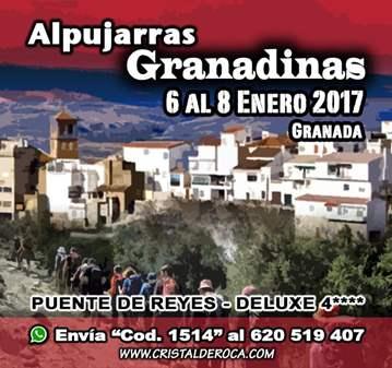 VIAJE: LAS ALPUJARRAS GRANADINAS DELUXE****