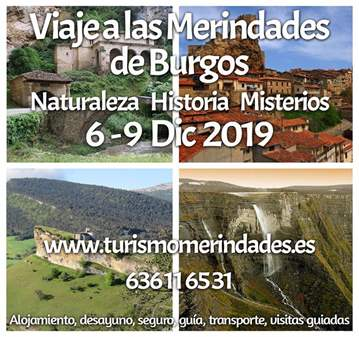 TOUR: LAS MERINDADES BURGOS NATURALEZA ARTE GAS...