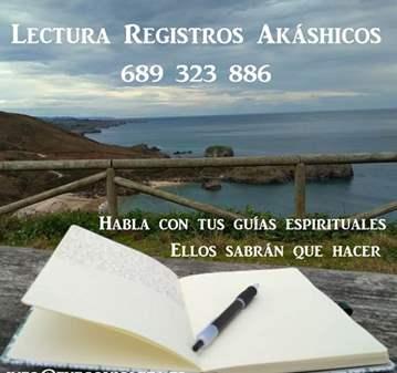 SESIÓN: LECTURA REGISTROS AKÁSHICOS ASTURIAS