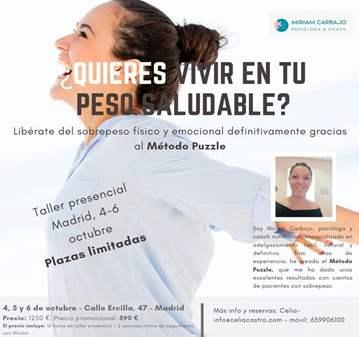 CURSO: LIBÉRATE DEL SOBREPESO FÍSICO Y EMOCIONAL