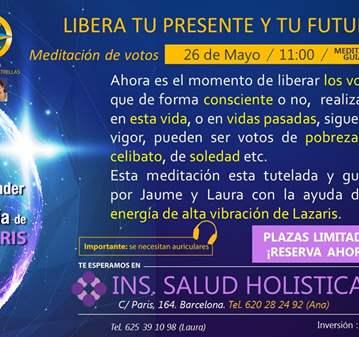 EVENTO: MEDITACIÓN DE VOTOS