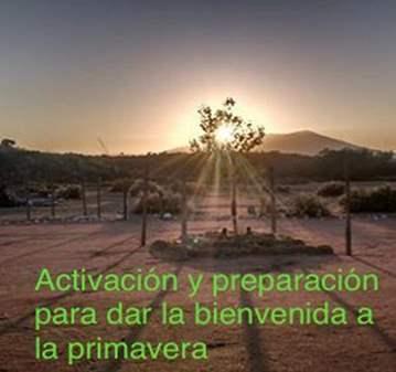 SESIÓN: LIMPIEZA Y ACTIVACIÓN  EQUINOCCIO DE PR...