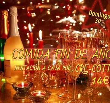 QUEDADA: COMIDA FIN DE AÑO_INVITAN A CAVA _SOLO...
