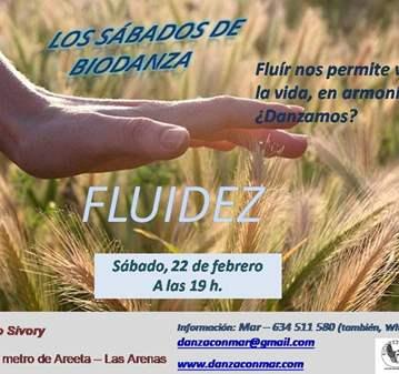 TALLER: LOS SÁBADOS DE BIODANZA - FLUIDEZ