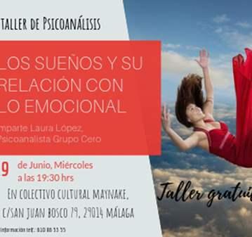 TALLER: LOS SUEÑOS Y SU RELACIÓN CON LO EMOCIONAL