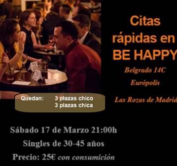 EVENTO: MADRID NOROESTE: CITAS RÁPIDAS/SPEED DA...