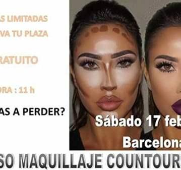 CURSO: MAQUILLAJE COUNTOURING