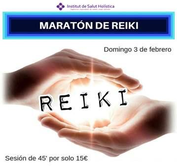 EVENTO: MARATÓN DE REIKI: SESIONES POR SOLO 15€