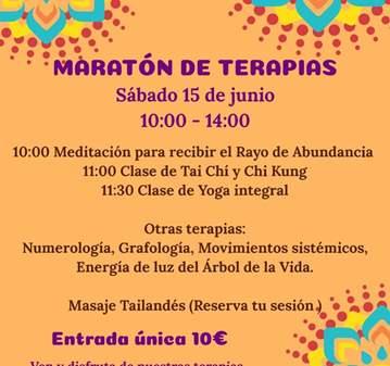 EVENTO: MARATÓN DE TERAPIAS NATURALES