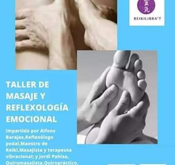 TALLER: MASAJE Y REFLEXOLOGÍA EMOCIONAL
