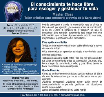 CLASE: MASTER CLASS EL CONOCIMIENTO DA PODER, A...