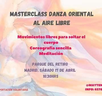 MASTERCLASS PARQUE DEL RETIRO