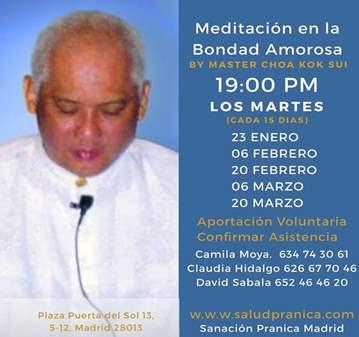 QUEDADA: MEDITACIÓN BONDAD AMOROSA DE MASTER CH...