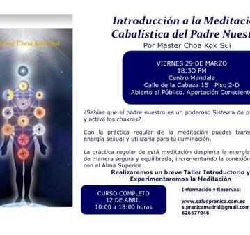 CHARLA: MEDITACIÓN CABALISTICA DEL PADRE NUESTRO