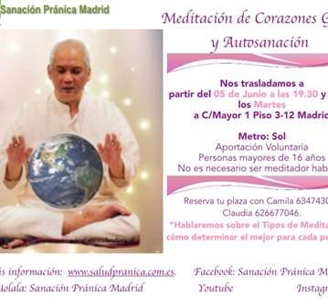 QUEDADA: MEDITACIÓN DE CORAZONES GEMELOS Y AUTO...