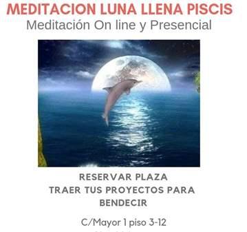 QUEDADA: MEDITACIÓN DE LUNA LLENA PISCIS . 19 F...