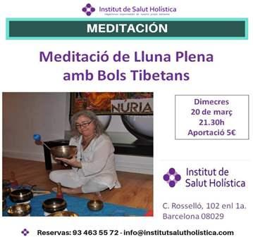 SESIÓN: MEDITACIÓN DE LUNA LLENA CON CUENCOS TI...