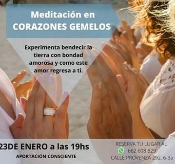 SESIÓN: MEDITACIÓN EN CORAZONES GEMELOS