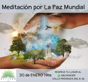 SESIÓN: MEDITACIÓN POR LA PAZ MUNDIAL