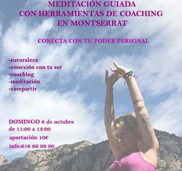 EVENTO: MEDITACIÓN GUIADA CON HERRAMIENTAS DE C...