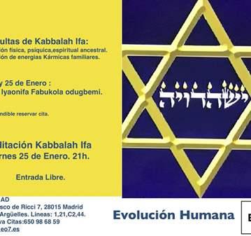 SESIÓN: MEDITACIÓN IFA Y CONSULTA KABBALAH IFA