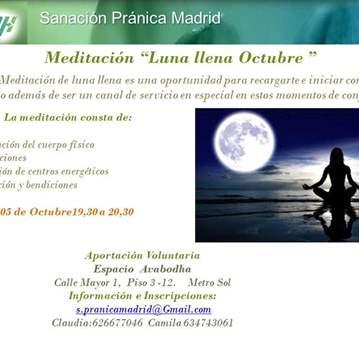 QUEDADA: MEDITACIÓN LUNA LLENA.  SERVICIO AL PL...