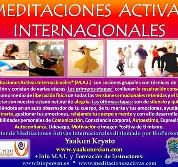 CLASE: MEDITACIONES ACTIVAS INTERNACIONALES