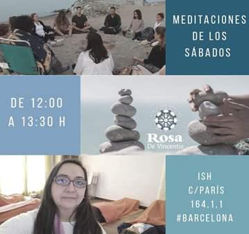 EVENTO: MEDITACIONES DE LOS SÁBADOS