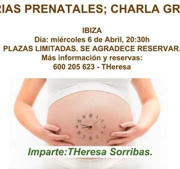 CHARLA: MEMORIAS PRENATALES -CHARLA GRATUITA