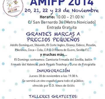 MERCADILLO SOLIDARIO AMIFP