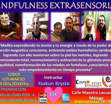 CLASE: MINDFULNESS EXTRASENSORIAL