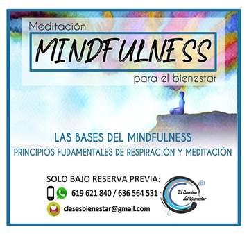 TALLER: MINDFULNESS - MEDITACIÓN Y RESPIRACIÓN