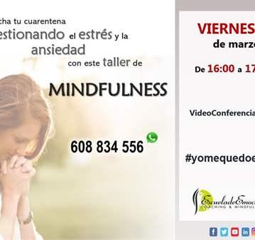 TALLER: MINDFULNESS ONLINE - SOLICITA ENLACE