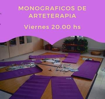 TALLER: MONOGRAFICOS DE ARTETERAPIA