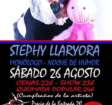 EVENTO: MONÓLOGO DE STEPHY LLARYORA EN VIGO