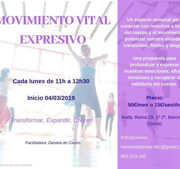 CLASE DE MOVIMIENTO VITAL EXPRESIVO
