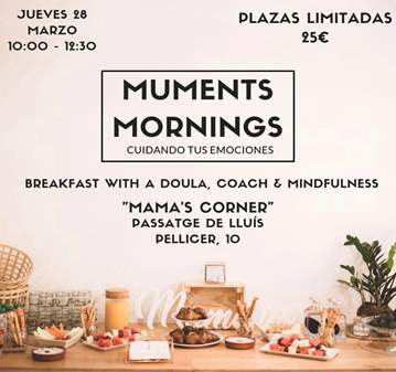 CHARLA: MUMENTS MORNINGS, CUIDANDO DE TUS EMOCI...