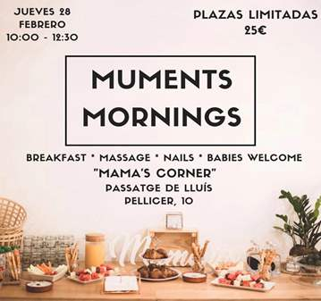 EVENTO: MUMENTS MORNINGS, RELAX Y CUIDADO PARA ...