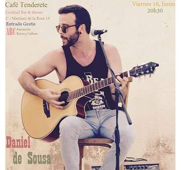 CONCIERTO: MÚSICA EN VIVO DE DANIEL DE SOUSA