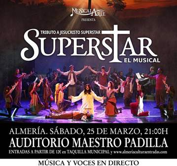 CONCIERTO: MUSICAL TRIBUTO A JESUCRISTO SUPERSTAR