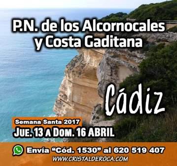 VIAJE: P.N. ALCORNOCALES COSTA GADITANA - JUEVE...