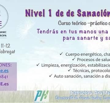 CURSO: NIVEL 1 DE SANACIÓN PRÁNICA