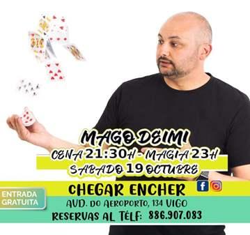 EVENTO: NOCHE DE MAGIA CON MAGO DEIMI EN VIGO