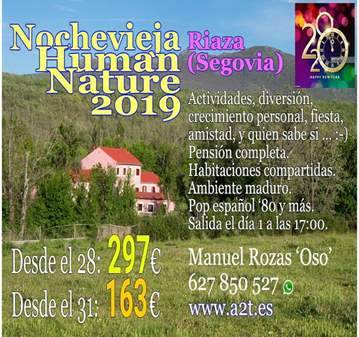 EVENTO: NOCHEVIEJA HUMAN & NATURE NHN 2019 TOTAL