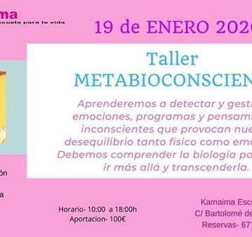 TALLER DE METABIOCONSCIENCA