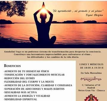 NUEVA CLASE YOGA KUNDALINI + MEDITACIÓN