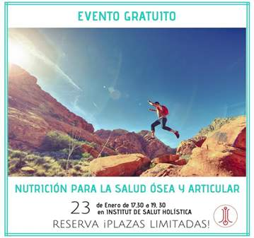 CHARLA: NUTRICIÓN PARA LA SALUD OSEA Y ARTICULA...
