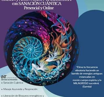 SESIÓN: ONLINE DE LNT, SANACIÓN CUÁNTICA